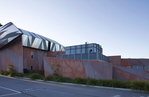 Curtin University Building 154 Side View